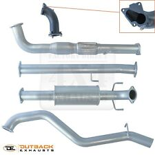"""Foton Tunland 2L Turbo Diesel 3"""" 409 STAINLESS Exhaust System"""