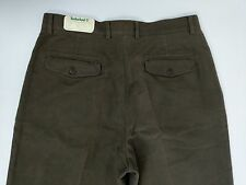Timberland WeatherGear Trousers Brushed Cotton Straight Fit W32 L34 New RRP£90