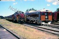 2004 Cape Cod Central RR CCRX 1501 GP7 Locomotive Kodachrome Slide