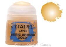 GW Citadel Layer Paint Auric Armour Gold MINT