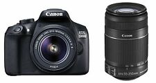 Canon EOS 1300D (EF S18-55 IS II & EF S55-250 IS II)+DUAL LENS KIT+WIFI