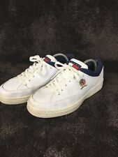 Vintage Tommy Hillfiger Shoes Crest Flag White Mens Size 7 Apx. Womens 9 164
