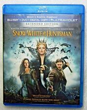 LIKE NEW Snow White and the Huntsman Blu-ray DVD 2-Disc Set Charlize Theron