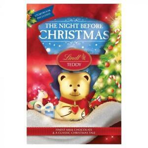 Lindt Christmas Chocolates Teddy Bear/Santa/Snowman/Reindeer Xmas Gift Present