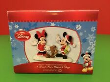 NEW Disney Department 56 A TREAT FOR MINNIE'S DOG Rare