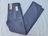 NWT MENS LEVIS 511 SLIM TROUSER PANTS 13151-0069 BLUE
