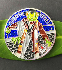 Doctor Gecko?  Geocoin  - blau, personal Coin