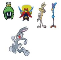 Looney Tunes Kids TV Show Iron On Sew On Patches Badges Bugs Road Runner Marvin