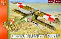 Encore Models Kosciuszko Albatros Cooper 1/72 Plastic Aircraft Model Kit 72103