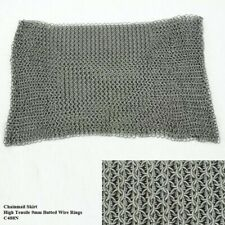 Chainmail Skirt 9mm Butted Steel Rings Perfect for Stage,Costume & Re-enactment