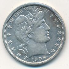 1906-O BARBER SILVER HALF DOLLAR-OUTSTANDING GENTLY CIRCULATED COIN-SHIPS FREE!