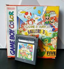 Nintendo original Game & Watch Gallery 3. In box, with manual. Super clean.