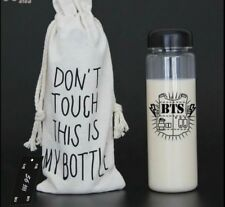 BTS Kpop Bottle KPOP Merchandise Bangtan Boys with Storage Pouch