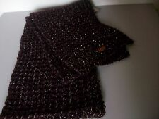 Maluka Knit Wine Scarf, Name It, One Size, Brand New with Tags