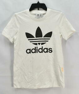 Adidas Originals Women's Trefoil T-Shirt, White, Size XS, $30, *Defect