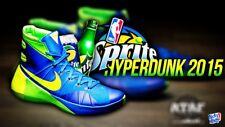 NEW Nike Men's Hyperdunk 2015 Sprite Soar/Volt/Green Strike 749561-473 Size 10.5