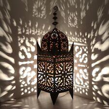 Orientalische Lampe Schmiedeeisen Marokkanische Laterne Eisenlaterne ELJ H120cm