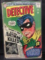 Detective Comics #347 Dc Silver Age Comic Book (1966) Robin Cover
