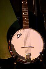 con Ebano Top una Osso Inserti Ponte per Banjo 5 Corde 1.6cm Acero