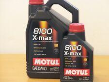 9,95 €/L MOTUL 8100 X-MAX 0w-40 6 L. Vollsyn MB 229.5 INCL. AMG FORD wss-m2c 937a