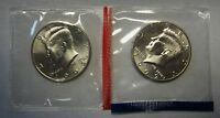 1992-P and 1992-D Gem BU Kennedy Half Dollars in Original Mint Cello Packs