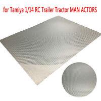 Metal Anti-skid Plate for Tamiya 1/14 56323 Hobby R470 R620 RC MAN 1851 ACTORS