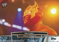 Sin Cara Triple Threat 3 The Mask 2013 WWE Topps Trading Card TT9-3