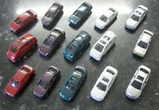 Set of 15 Model Cars for N Gauge Layouts