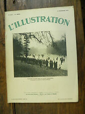L'illustration n° 4737  / 16 décembre 1933 PLAISIRS D'hiver sur la glace parisie