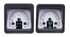 Dakota Digital 69 Chevy Camaro Customizable Gauge System Silver HDX-69C-CAM-S