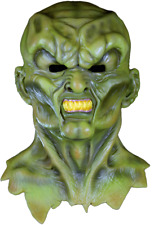 GOOSEBUMPS THE HAUNTED COSTUME MASK 1995 EPISODE ADULT GREEN LATEX MONSTER SCARY