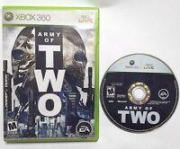 Army of Two (Microsoft Xbox 360, 2008) No Manual