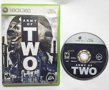 Army of Two (Microsoft Xbox 360, 2008) No Manual
