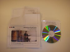 CD EP promo + press   Johnny Borrell And Zazou ‎– The Artificial Night ( rock )