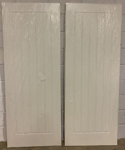 "2xJeld-Wen 5 Panel Vertical Internal White Doors,(78""x30""x35mm),Brand New,(192)"