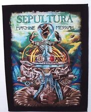 SEPULTURA MACHINE MESSIAH  BACK PATCH