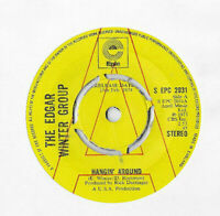 """THE EDGAR WINTER GROUP * HANGIN' AROND * 7"""" PROMO  EPIC S EPC 2031 P[LAYS GREAT"""