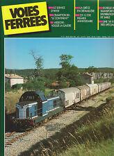 VOIES FERREES N° 42 CRAMPTON80 / 231 G 558 / GRECE EN CREMAILLERE / ARDECHE
