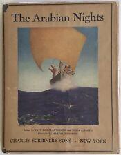 The Arabian Nights Maxfield Parrish Illustrations HCDJ 1923 Scribner's