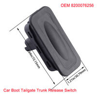 Car Tailgate Switch Trunk Release Button Fits Renault Modus Kangoo 2002-2017 OEM