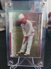 UPPER DECK COLLECTABLES 2001 MAKING OF A CHAMPION TIGER WOODS!!! RARE SP!!!
