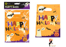 20x HALLOWEEN PARTY BAGS Trick Or Treat Day Of Dead Sweet Bag Loot Lot HAL0910