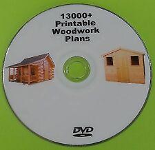 Woodwork Plans Massive Collection On DVD - Shed Barn Log Cabin Toys Gate Plans
