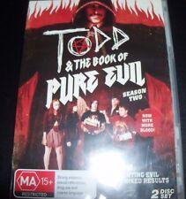 Todd & The Book Of Pure Evil Season Two 2 (Australia Region 4) DVD - New