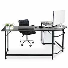 66 L Shaped Desk Corner Computer Desk Pc Laptop Study Table Workstation Home