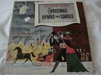 ROBERT SHAW CONDUCTS CHRISTMAS HYMNS AND CAROLS VOLUME II VINYL LP ALBUM 1952