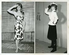 SUE ANE LANGDON SMILING PORTRAIT MCHALE'S NAVY ORIGINAL 1963 ABC TV PHOTO