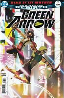 GREEN ARROW #7 2016 unread Juan Ferreyra Cover DC Comics 1ST PRINT Percy Rebirth