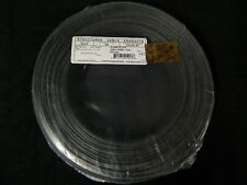 22 GAUGE 2 CONDUCTOR 200 FT BLACK ALARM WIRE STRANDED COPPER HOME SECURITY CABLE