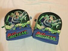 Lot of 2 DISNEY BUZZ LIGHTYEAR LUNCH TOTES with tags